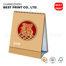 Wholesale ! Professional Cheap Table A4 Daily Activities Calendar 2018 Cardboard Printing Year Monthly DIY Calendar Printable