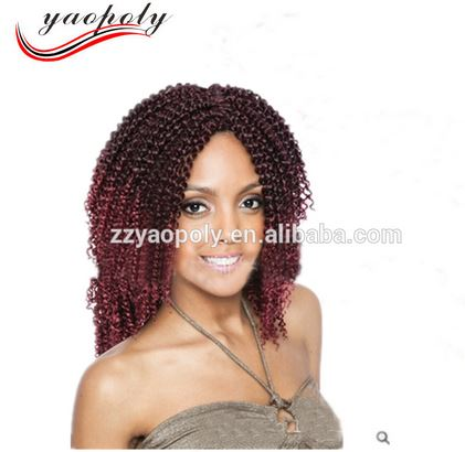 Papular afri naptural definition braid visso hair bob big curly hair