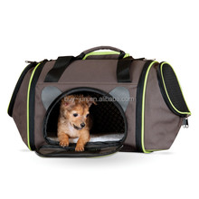 portable small pet dog cat travel carrier tote bag for outdoor
