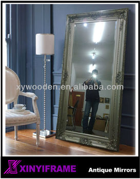 Antique Decorative Large Framed Bathroom Mirrors