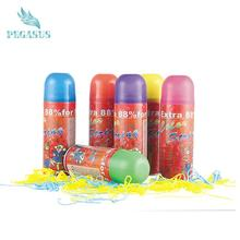 Christmas decoration 2017 color silly gun string spray
