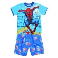 summer children's clothing sets baby boy's sport suit set kid cartoon short sleeve t shirt +shorts