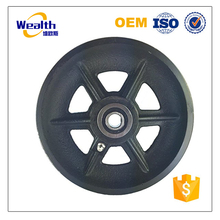 China supplier sand casting iron casting v groove belt pulley