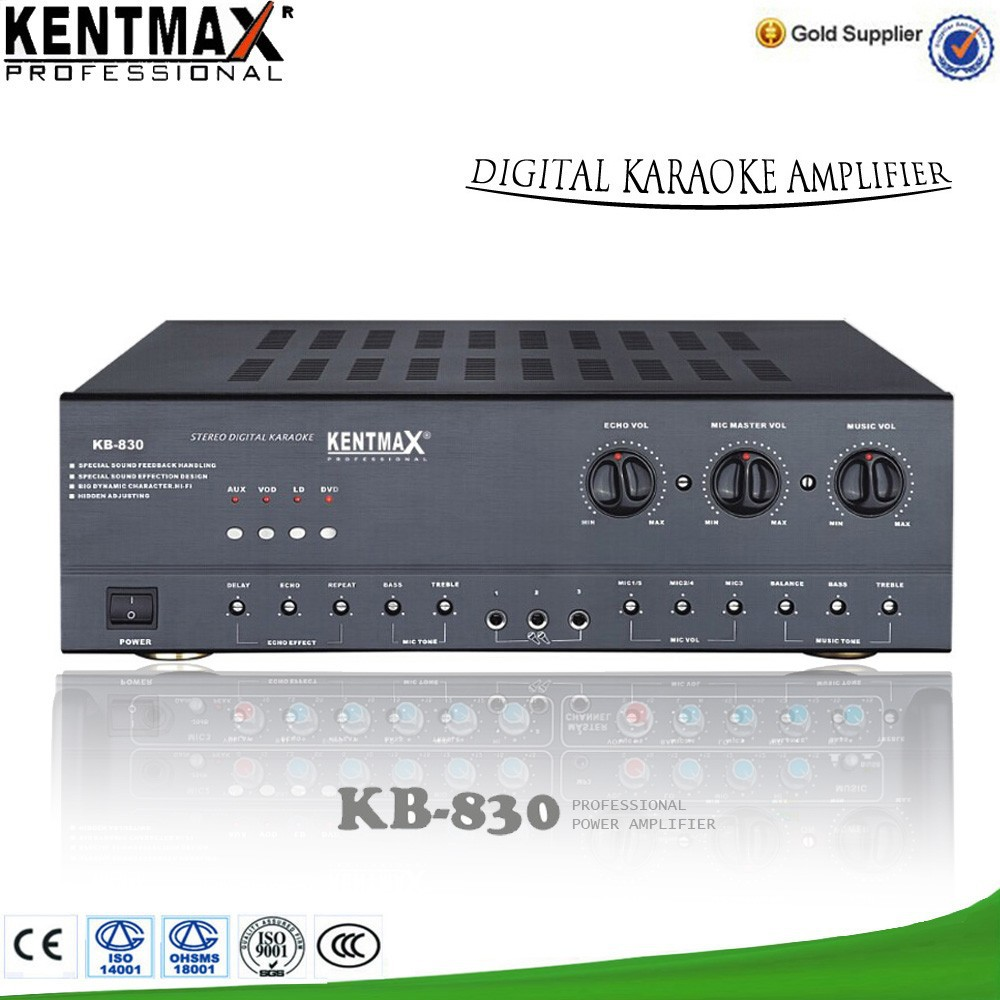 Wholesale round plug hifi amplifier KB-830