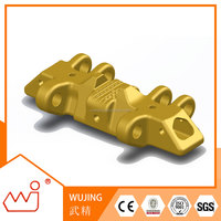 "Zhejiang Wujing providing under carriage parts construction machinery parts customized for brand size 39.37""(1000mm) track shoe"