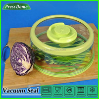 As seen on TV PressDome food plastic airtight vacuum lid cover