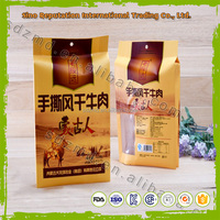 High quality food grade beef jerky packaging bags