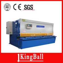 Export to Faroe Islands CE QC12Y(K)-4*2500 hydraulic metal plate shearing machine
