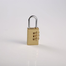 Factory directly sale OEM quality travel luggage combination padlock password pad locks with key