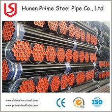Hot rolled Seamless Steel pipe SCH40 SCH80 Single/ Double random length carbon steel seamless pipe