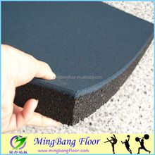 Rubber tiles Outdoor Playground basketball flooring