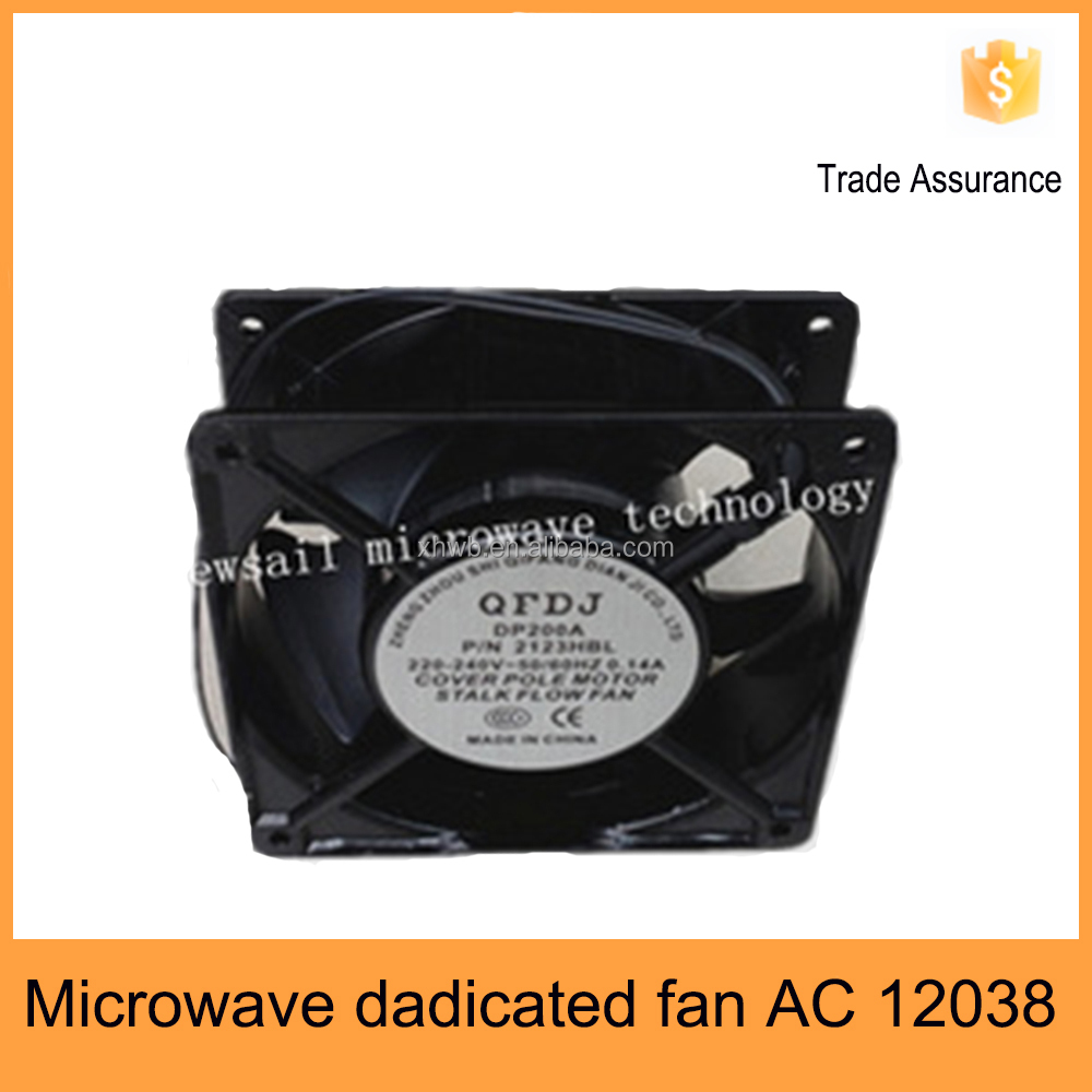 220v 50/60hz ac fan 120x120x38mm for general industrial magnetron