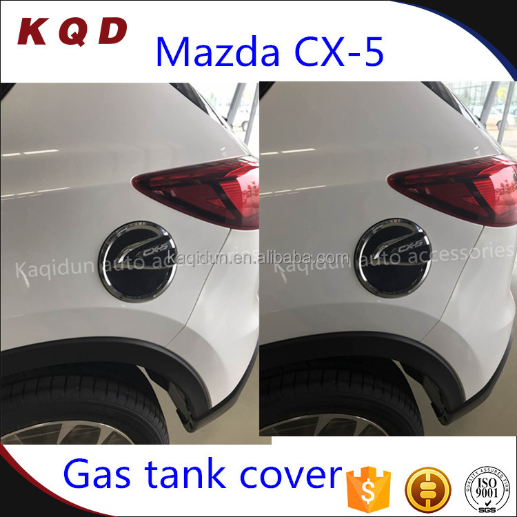 Wholesale price ABS plastic gas tank cover for mazda cx-5 accessories