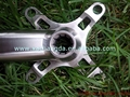 Titanium bicycle crankset titanium road/ mtb bike crank set & crank arm