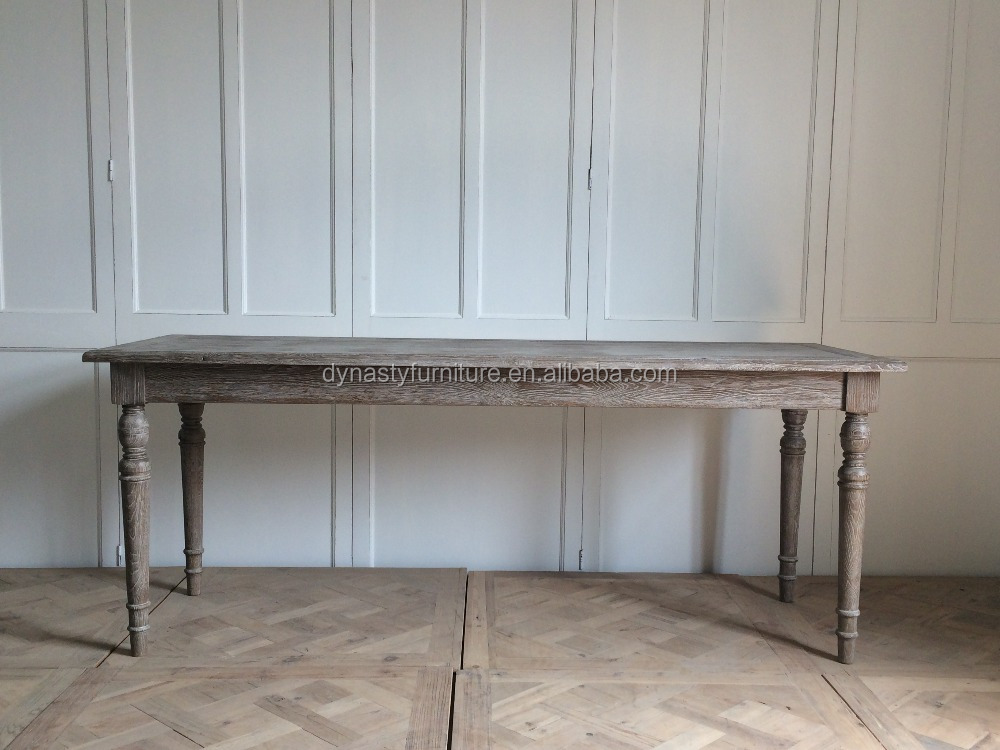 antique furniture classical reclaimed wood dining table general use
