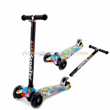 4 wheel Self balance kick scooter kid push bike for sale
