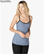 women sport clothing spaghetti strap bodybuilding tank tops