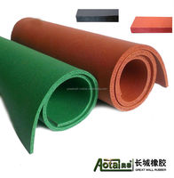 Factory price customized Sponge Foam Rubber sheet both sides fabric impression SBR EPDM material with different color