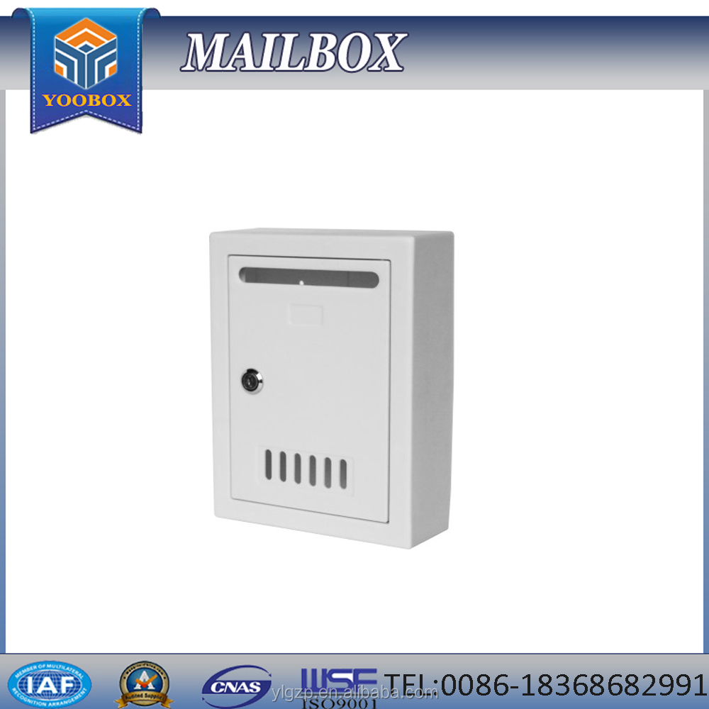 2016 high quality clear plastic mailbox for sale