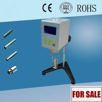 Easy operation types rotational digital display viscometer