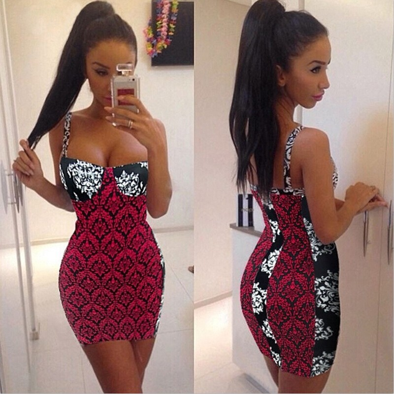 2017 Hot Design Sleeveless Night Club Dresses Of Girls Sexy Picture