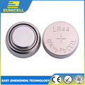 Zn/MnO2 Battery Type watch batery LR44 AG13 1.55V Alkaline watch battery