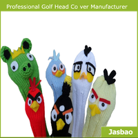 Knitted Golf Club Headcovers