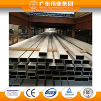 Foshan aluminum extrusion profile 6063 T5 building material and curtain wall