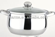 Business gift cookware 12pcs soup pot/pan