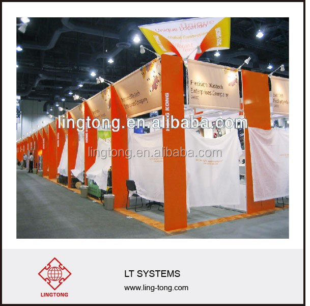 Standard Exhibition booth design for Trade Show