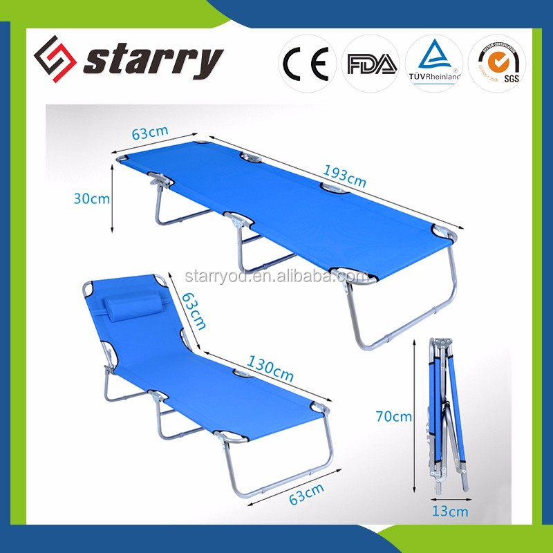 Factory Wholesale beach bed beach bed folding bed cot