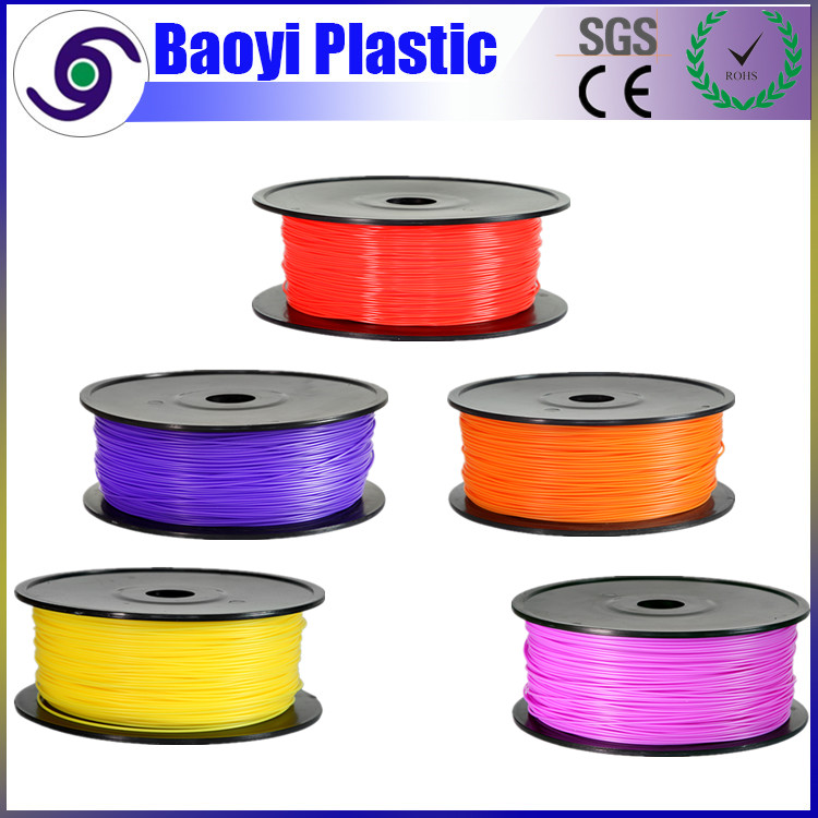 1.75 / 3mm Diameter 1kg Reel 3D Printer PLA ABS Plastic Filament for 3D Printing