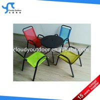 Children garden set with four chairs and one table