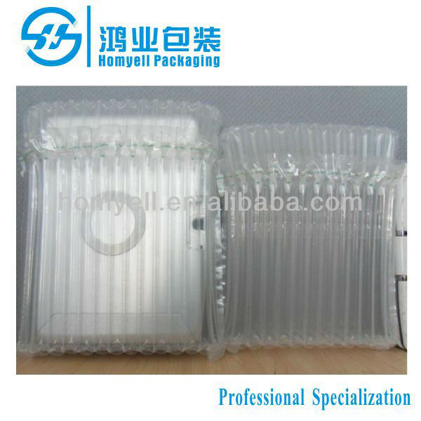 Protective Cushioning Inflatable DVD Player Air Column Bag Packaging