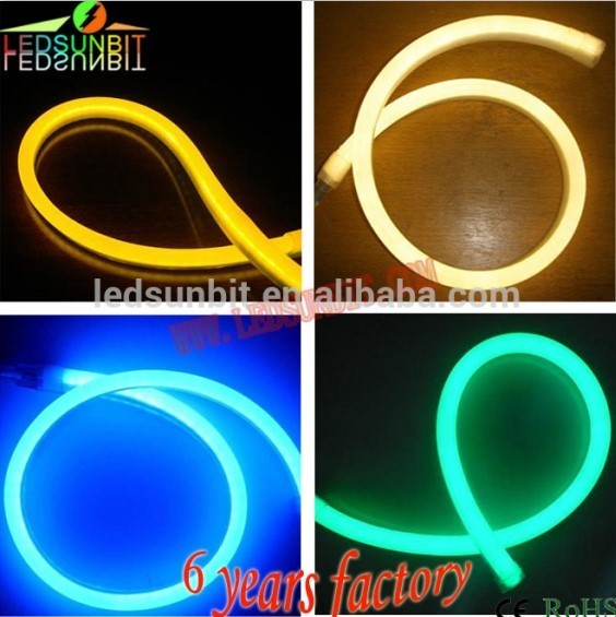 Factory wholesale CE RoHS certified outdoor waterproof soft pvc pixel chasing RGB led neon flex SMD 5050