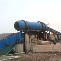 small and large rotary washer for rock, aggregate, quartz, and silica sand