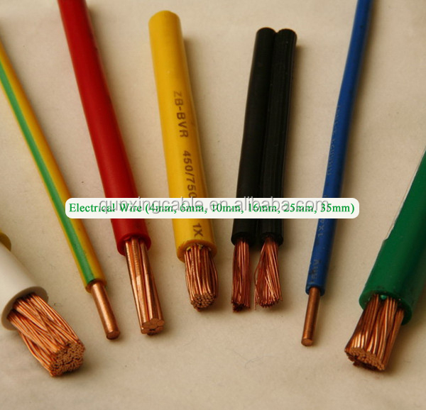 300/300v 450/750v waterproof PVC insulated electrical varnish wire enamel
