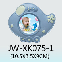 Hot!!! sale small ceramic baby boy photo frames air plan shape