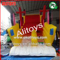 hot funny intresting corsail cartoon giant inflatable slide