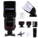 Camera Flash Gun,K&F Concept KF-590EX i-TTL Flash Speedlite with Flash Diffuser Soft Box Softbox For D5100 D5000 D3100