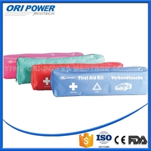 OP manufacture FDA CE ISO approved meet German standard DIN13164 with warning triangle roadside emergency car kit