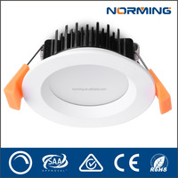 Good price!!!cutout 80mm 10W CRI>80 commercial LED Downlights led pull down light led light fixture