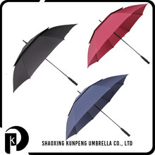 Black grilled matt frame stock golf umbrella full body umbrella for sale