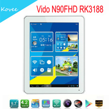 Tablet PC N90 9.7inch IPS android tablet Retina Rockchip RK3188 quad core Android 4.2 OS Ram 2GB DDR3 Tablet pc Vido N90FHDRK