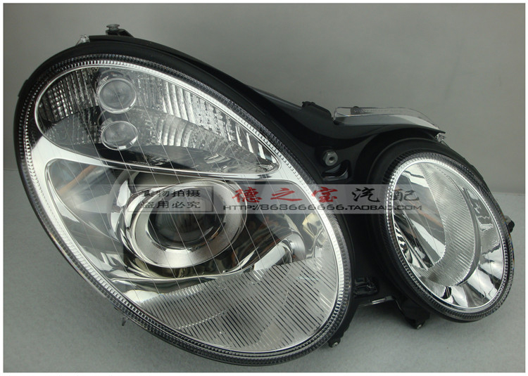 car headlight accessory auto daytime driving light head lamp for W211 E200 E220 E240 E280 E300 head light