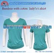 2013 new design fashion ladies office seamless t shirt