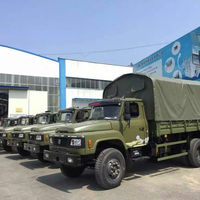 Dongfeng 4X2 Military Truck For Troop