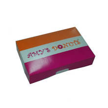 WHOLESALE CHEAP FOLDING WHITE PAPER PACKAGING CAKE BOX AND DONUT BOX