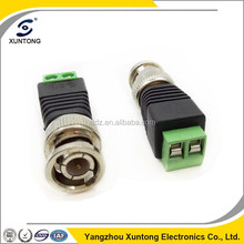 Hot Sell CCTV Coaxial Male BNC Connector with Screw Terminal