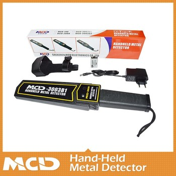 Large Scan Area Hand- Held Metal Detactor